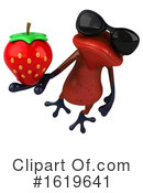Red Frog Clipart #1619641 by Julos