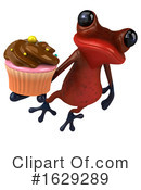 Red Frog Clipart #1629289 by Julos