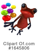 Red Frog Clipart #1645806 by Julos