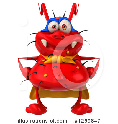 Red Germ Clipart #1269847 by Julos