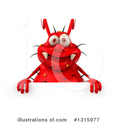 Red Germ Clipart #1315077 by Julos