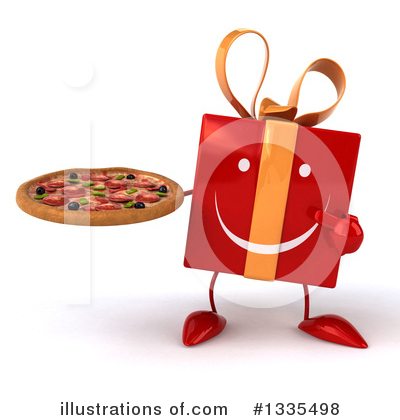 Red Gift Clipart #1335498 by Julos