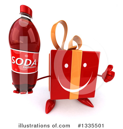 Red Gift Clipart #1335501 by Julos