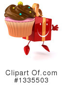 Red Gift Character Clipart #1335503