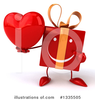 Red Gift Clipart #1335505 by Julos