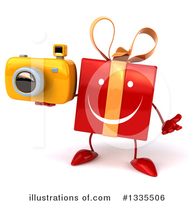Red Gift Clipart #1335506 by Julos