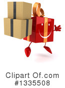 Red Gift Character Clipart #1335508
