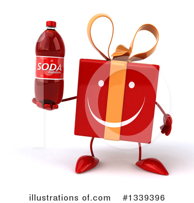 Red Gift Clipart #1339396 by Julos