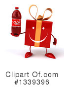 Red Gift Character Clipart #1339396