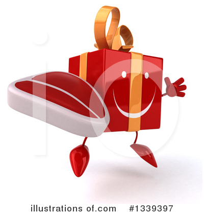 Red Gift Clipart #1339397 by Julos