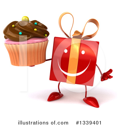 Red Gift Clipart #1339401 by Julos
