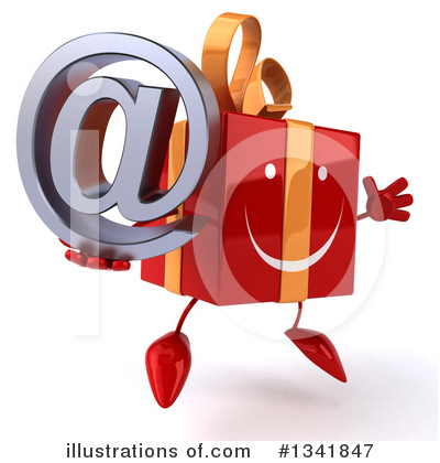 Red Gift Clipart #1341847 by Julos
