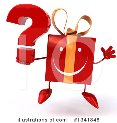 Red Gift Clipart #1341848 by Julos