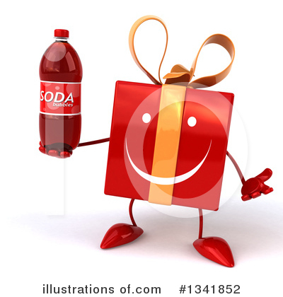 Red Gift Clipart #1341852 by Julos