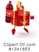 Red Gift Character Clipart #1341853
