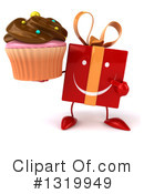 Red Gift Clipart #1319949 by Julos
