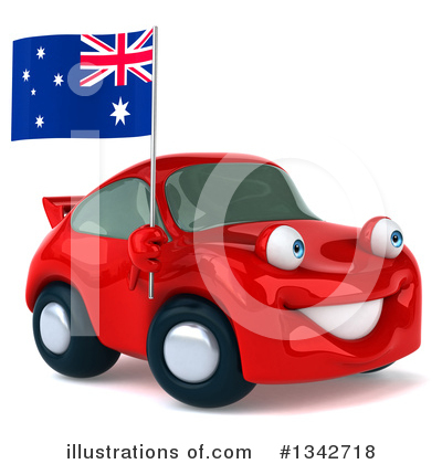 Red Porsche Clipart #1342718 by Julos