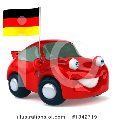 Red Porsche Clipart #1342719 by Julos