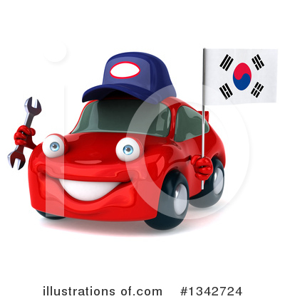 Red Porsche Clipart #1342724 by Julos