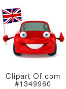 Red Porsche Clipart #1349960