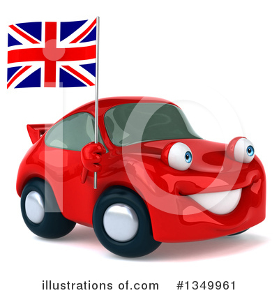 Red Porsche Clipart #1349961 by Julos