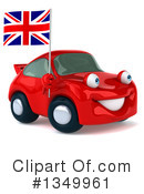 Red Porsche Clipart #1349961
