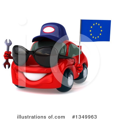 Red Porsche Clipart #1349963 by Julos