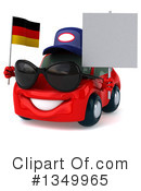 Red Porsche Clipart #1349965 by Julos