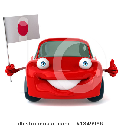 Red Porsche Clipart #1349966 by Julos