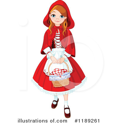Little Red Riding Hood Clipart #1189261 by Pushkin