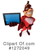 Red Super Hero Clipart #1272049 by Julos