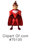 Red Super Hero Clipart #70130 by Julos