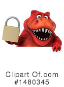Red Trex Clipart #1480345 by Julos
