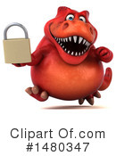 Red Trex Clipart #1480347 by Julos