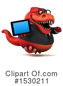 Red Trex Clipart #1530211 by Julos