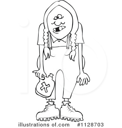 Hillbilly Clipart #1128703 by djart