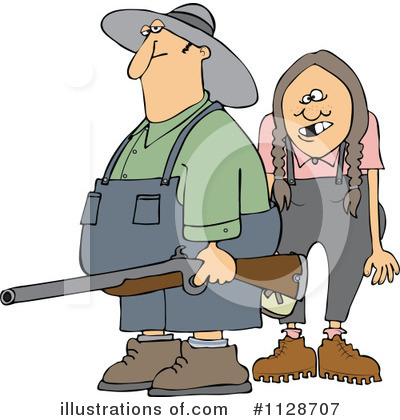 Hillbilly Clipart #1128707 by djart