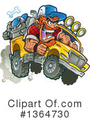 Royalty-Free (RF) Redneck Clipart Illustration #1364730