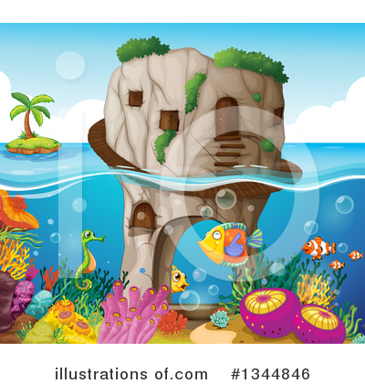 Island Clipart #1344846 by Graphics RF