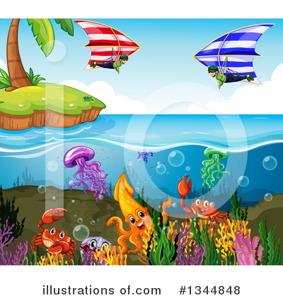 Ocean Clipart #1344848 by Graphics RF
