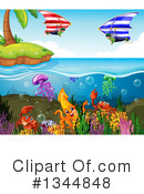 Reef Clipart #1344848 by Graphics RF