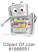 Refrigerator Clipart #1666551 by BNP Design Studio