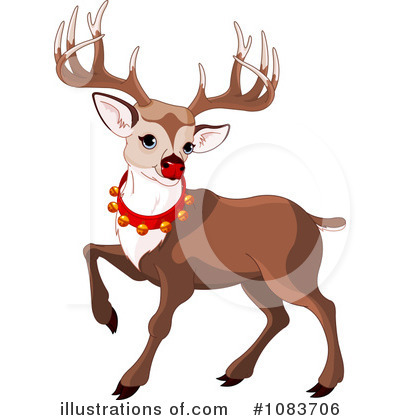 Reindeer Clipart #1083706 by Pushkin