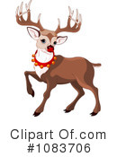 Royalty-Free (RF) Reindeer Clipart Illustration #1083706