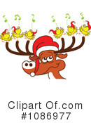 Reindeer Clipart #1086977 by Zooco