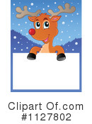 Royalty-Free (RF) Reindeer Clipart Illustration #1127802