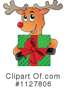 Royalty-Free (RF) Reindeer Clipart Illustration #1127806