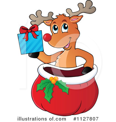 Christmas Gift Clipart #1127807 by visekart