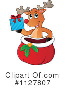 Royalty-Free (RF) Reindeer Clipart Illustration #1127807