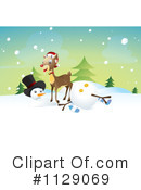 Reindeer Clipart #1129069 by NoahsKnight